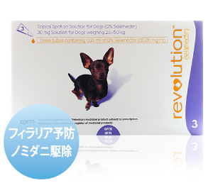 レボリューション 超小型犬用