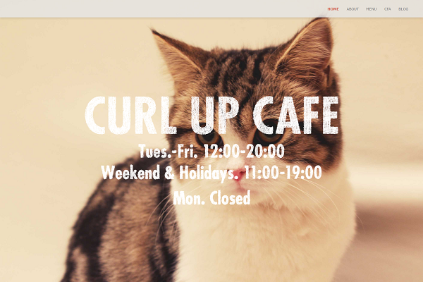 curl up cafe